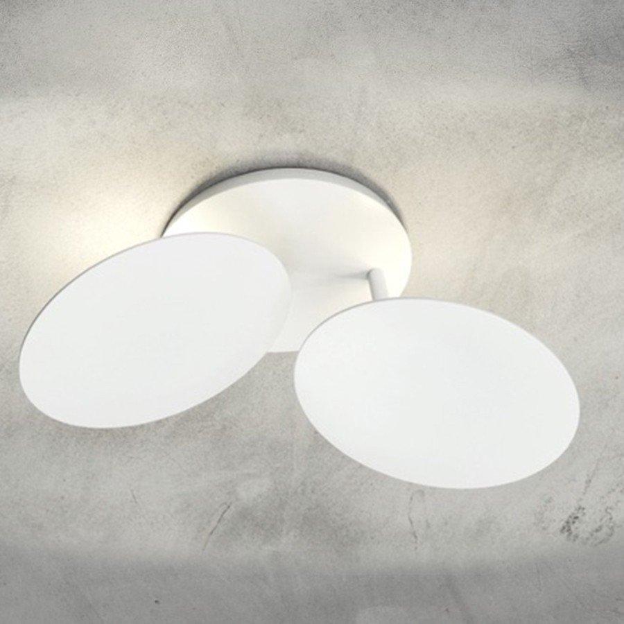 Millelumen Plafondlamp Circles 2 Wit – Bestelpagina