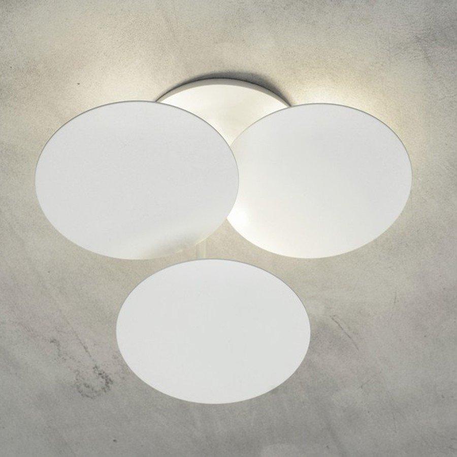 Millelumen Plafondlamp Circles 3 Wit – Bestelpagina