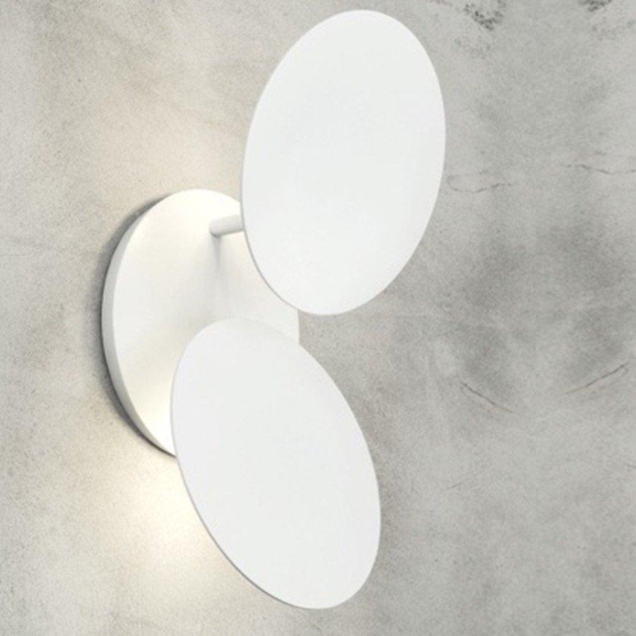 Millelumen Wandlamp Circles 2 Wit