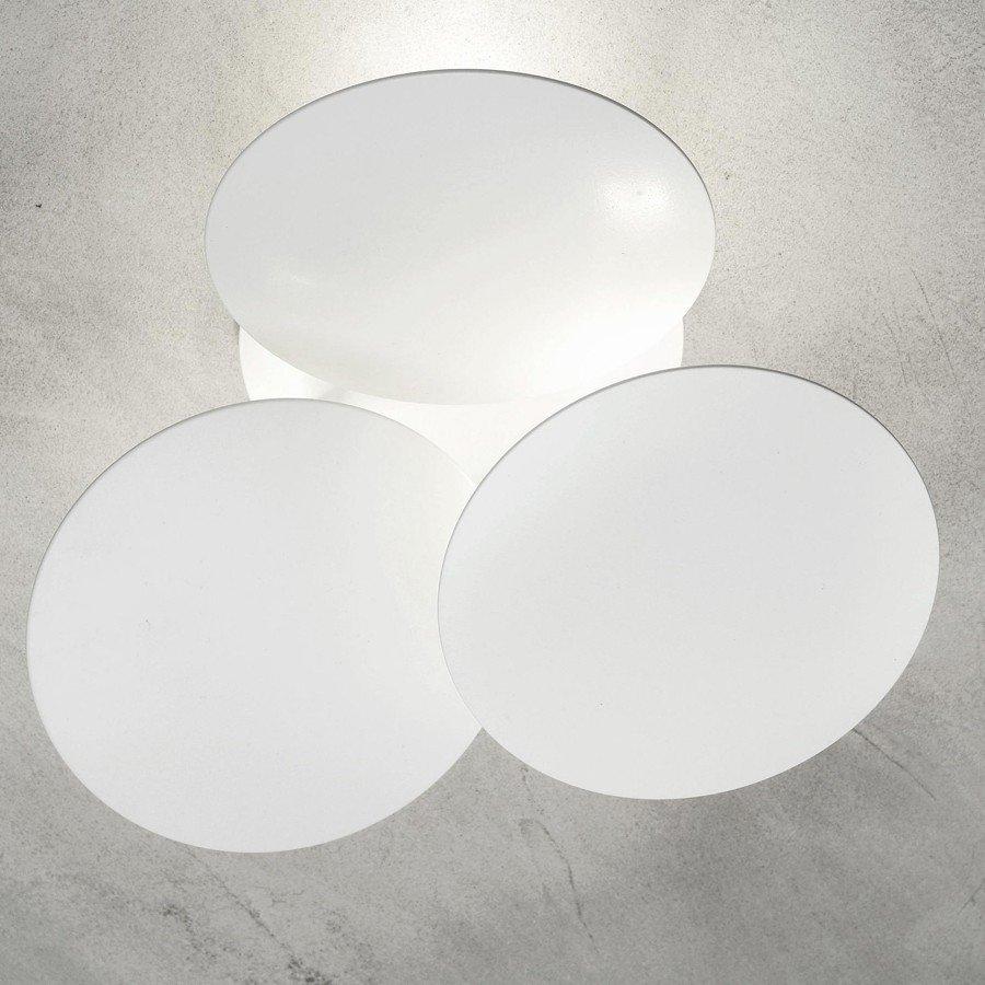 Millelumen Wandlamp Circles 3 Wit