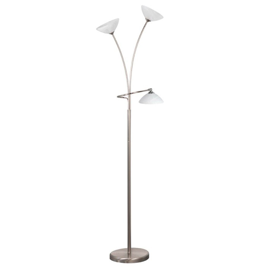 Vloerlamp Highlight Livorno Staal