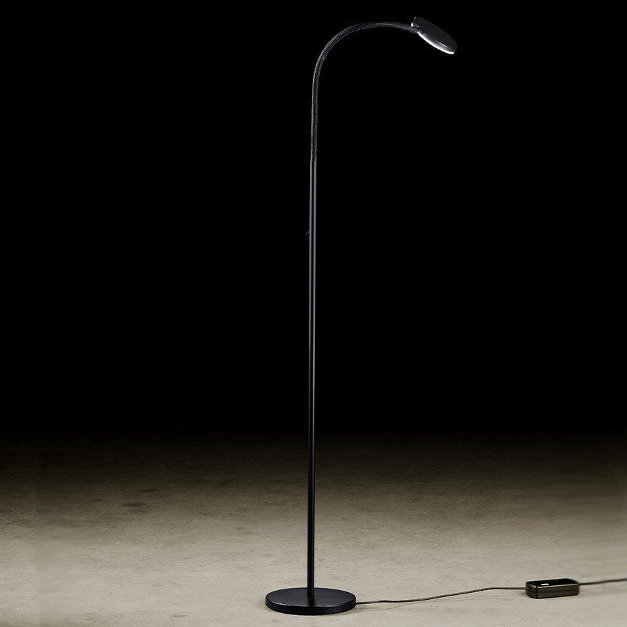 Vloerlamp Holtkotter Flex Zwart