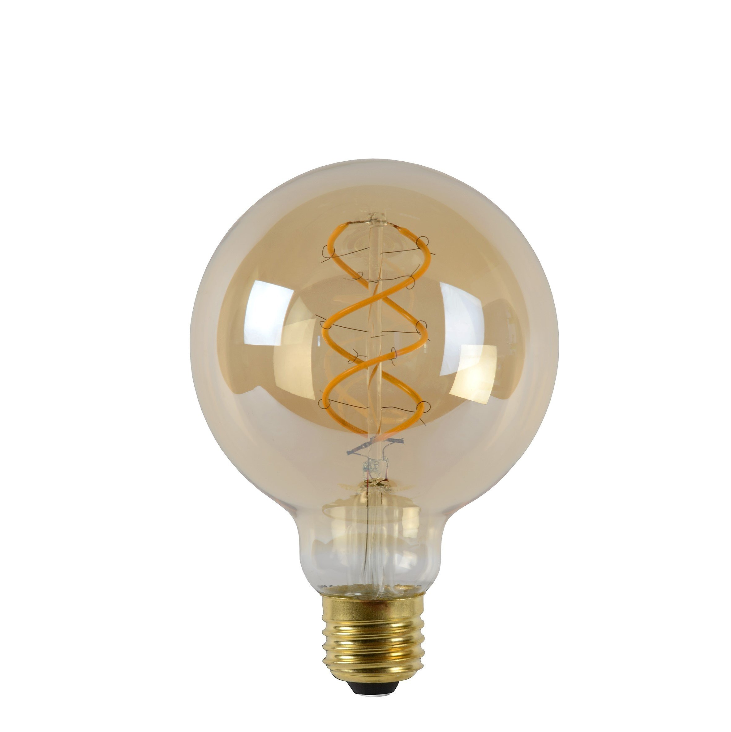 Dimbare Led Lamp G95 E27 Amberkleur