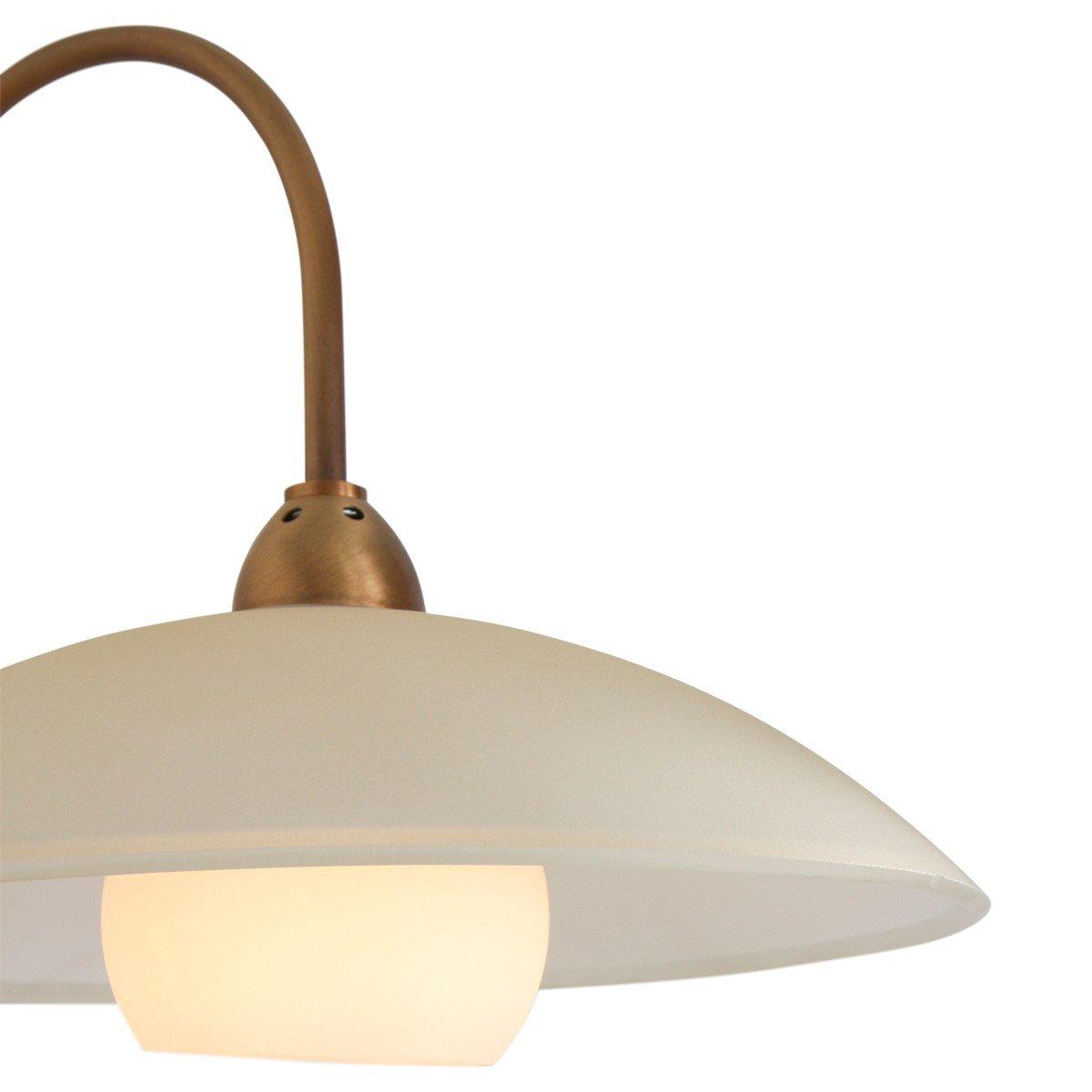 Sierlijke wandlamp