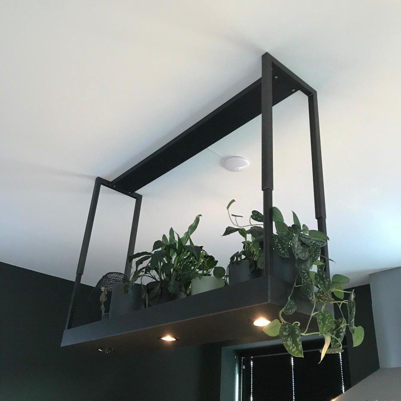 Lamp ,met planten