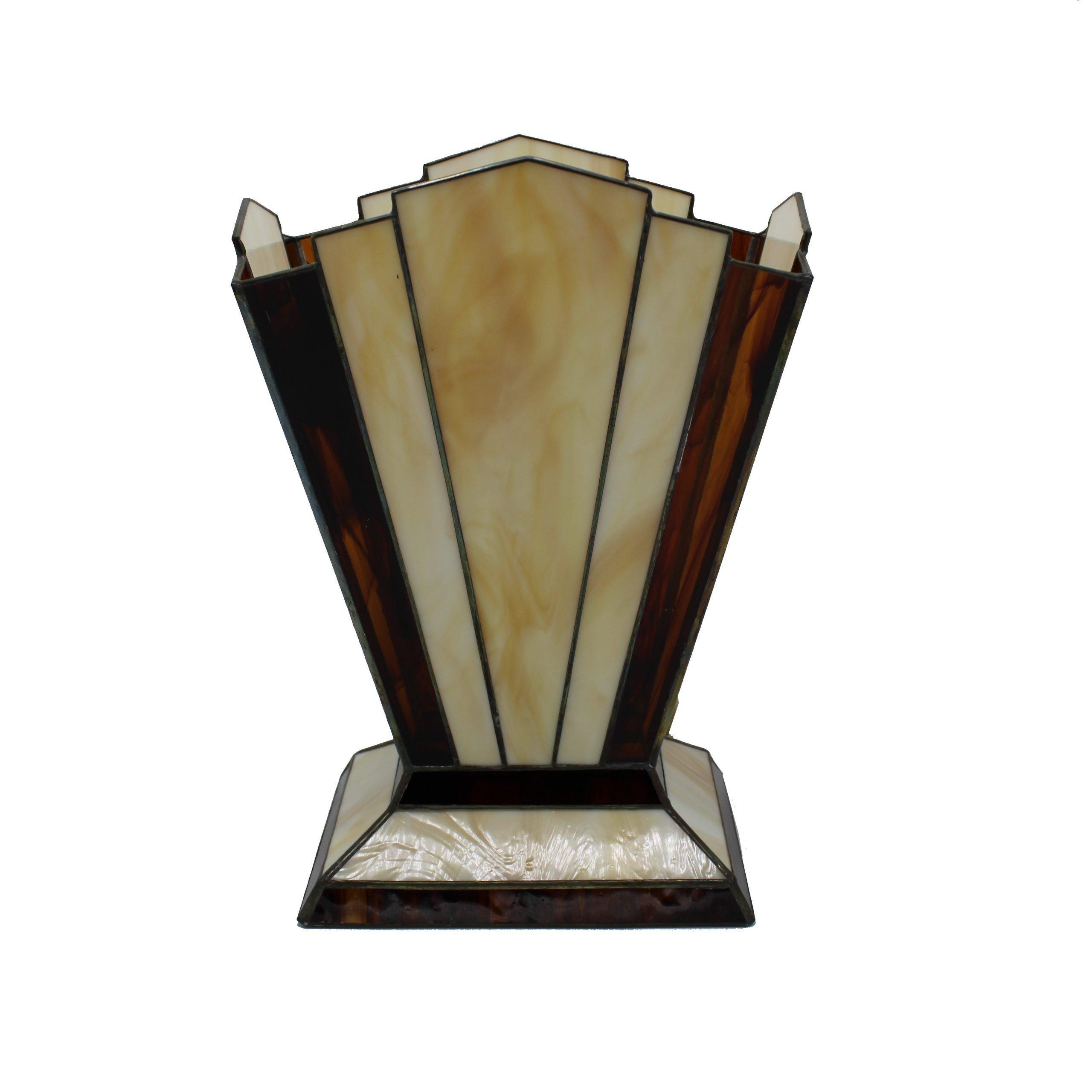 Tafellamp Zodiac Honing Donker Bruin