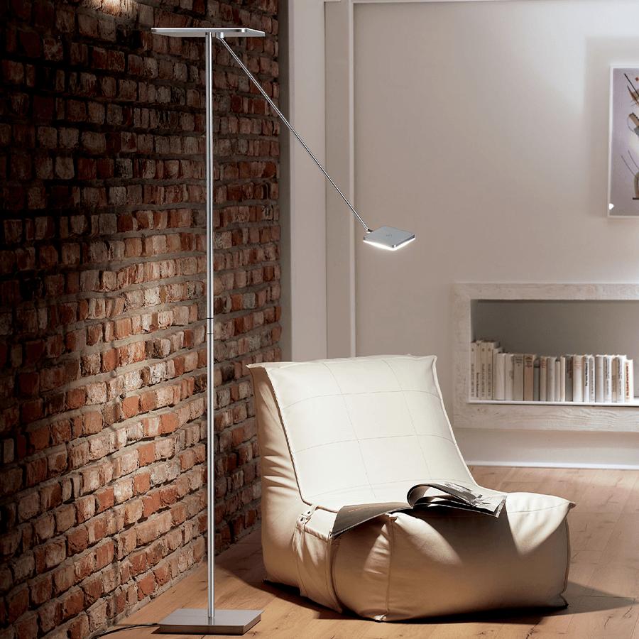 Vloerlamp Holtkotter Plano Vierkant