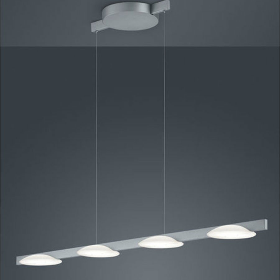 Hanglamp Helestra Pole Aluminium 4-lichts