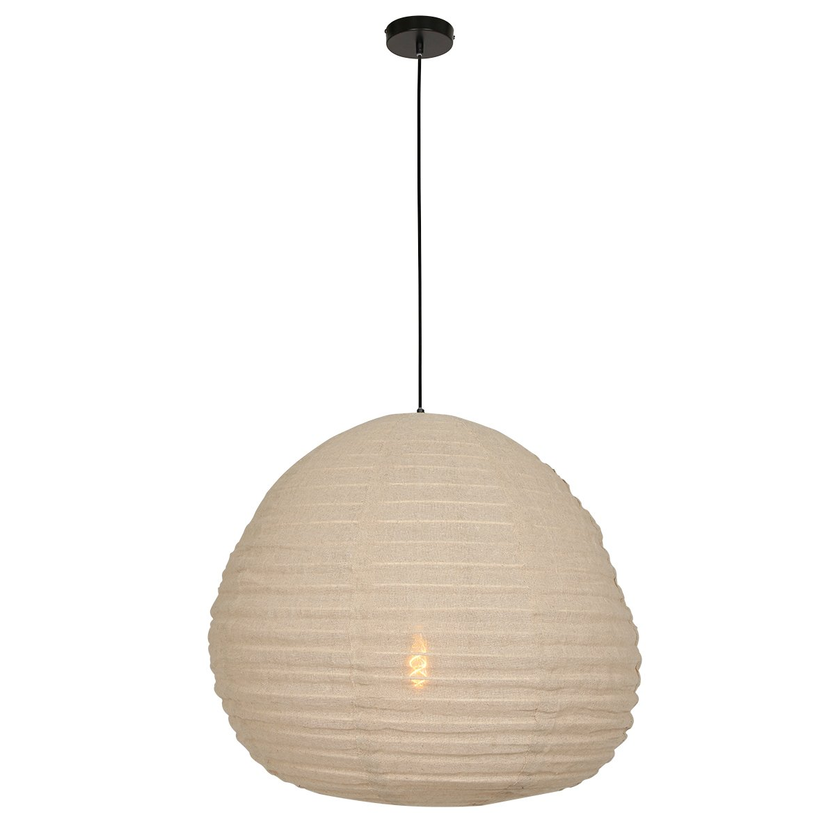 Hanglamp Stof Beige Anne Lighting Bangalore