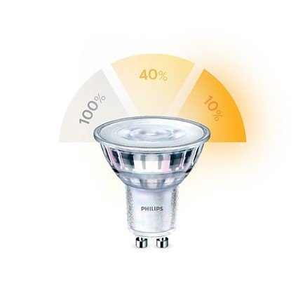 Philips SceneSwitch 3 Standen Lamp Led GU10