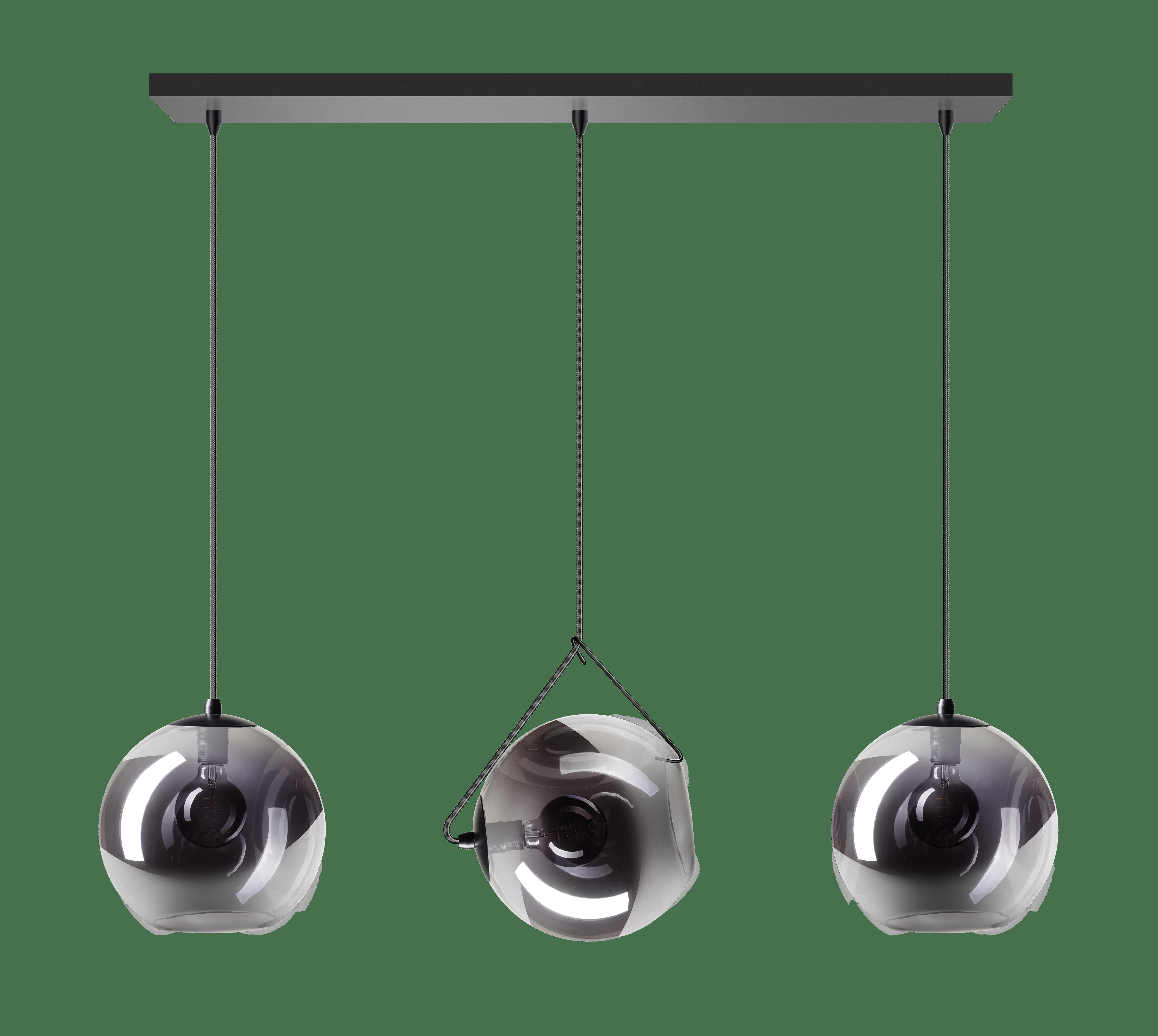 ETH Expo Hanglamp Orb 3Lichts Balk