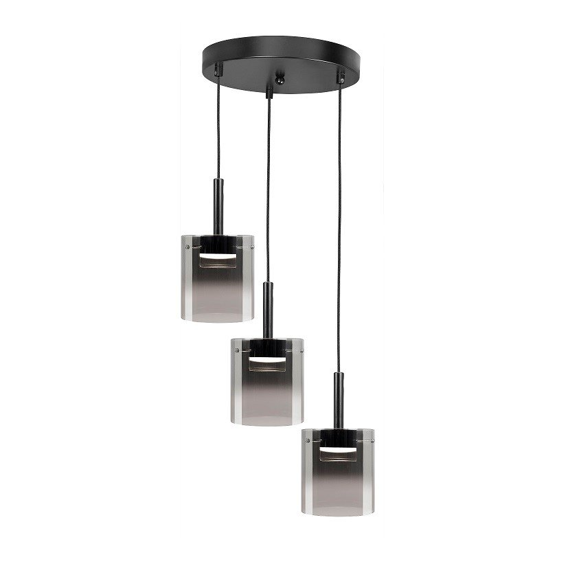 Hanglamp Highlight Salerno Drielichts Rond
