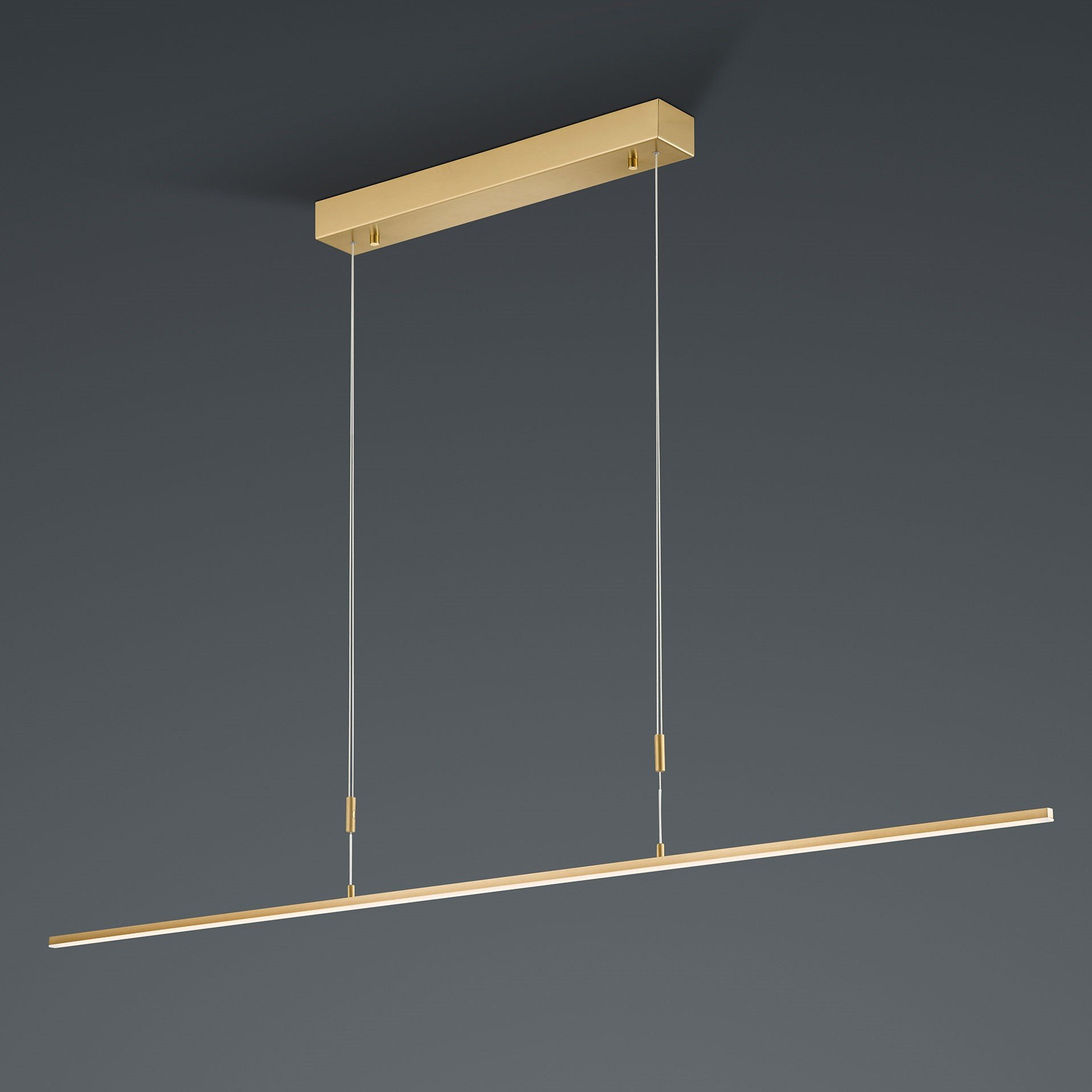 Hanglamp Bankamp Slim Messing Lang