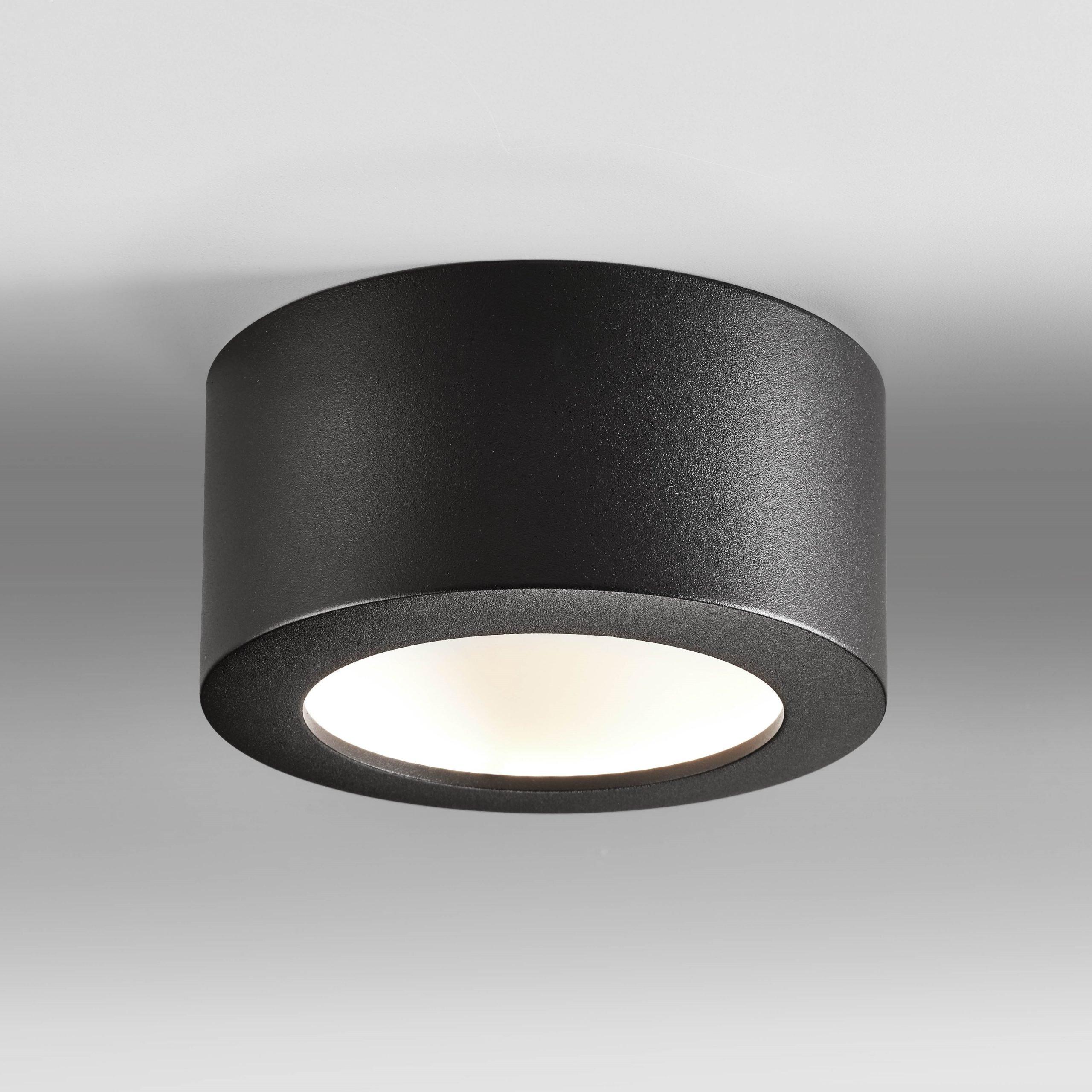 Plafondlamp Bowl Zwart Small