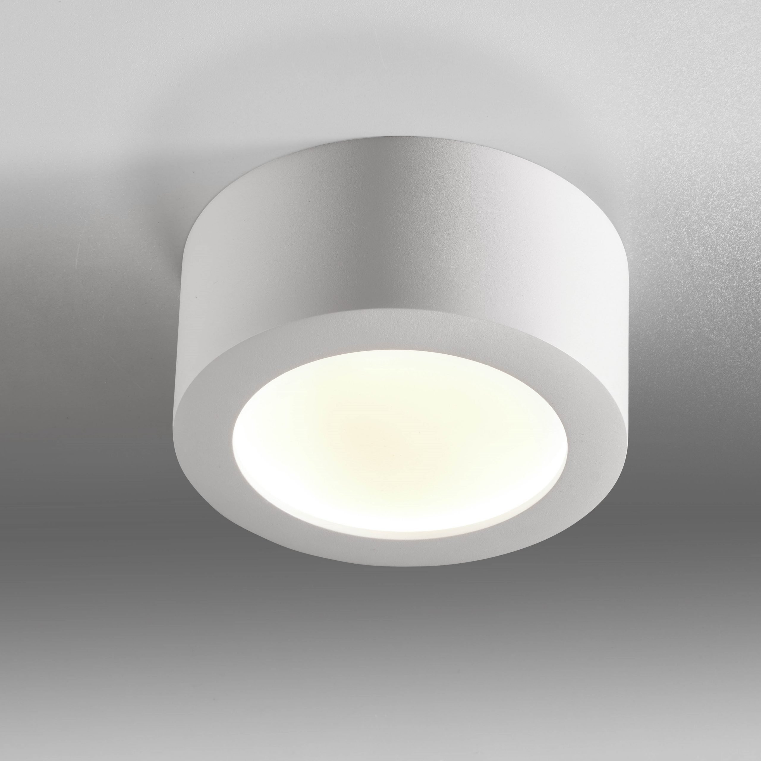 Plafondlamp Bowl Wit Medium