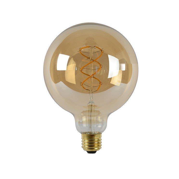 Dimbare Led Lamp G120 E27 Amberkleur