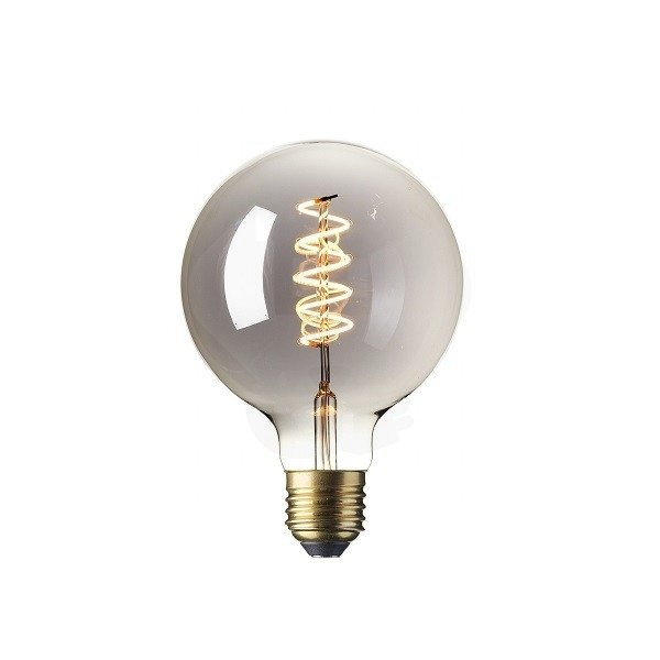 Dimbare Led Lamp G95 E27 Titanium