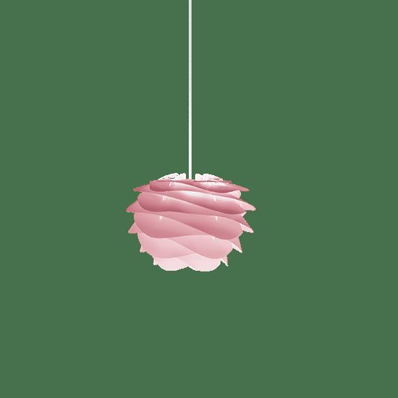 Hanglamp Umage Carmina Mini Baby Rose Met Witte Pendel