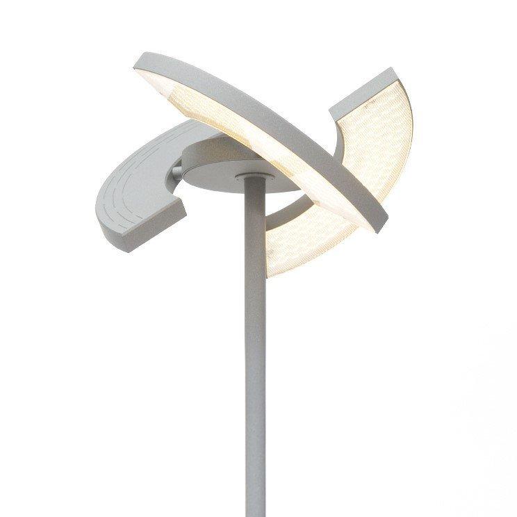 Vloerlamp Oligo Trinity Chrome Matt