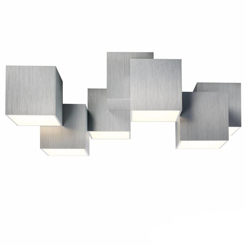Plafondlamp Grossmann Rocks Aluminium 6L