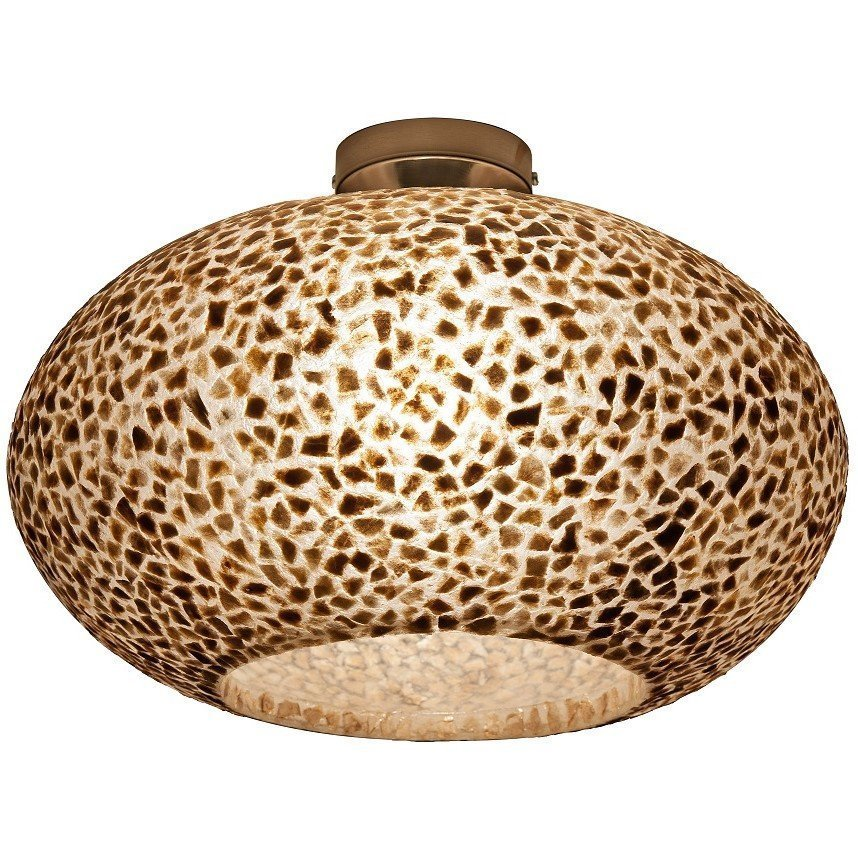 Schelpenlamp plafond