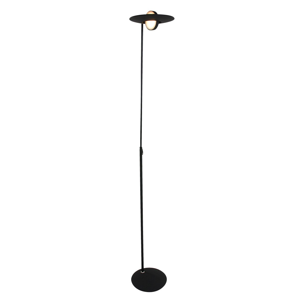 Vloerlamp Steinhauer Zenith Zwart Uplight