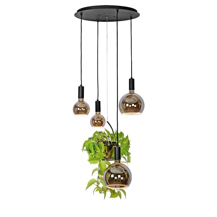 Ztahl Bryggen Plantenlamp 50cm Rond Inclusief Segula Led