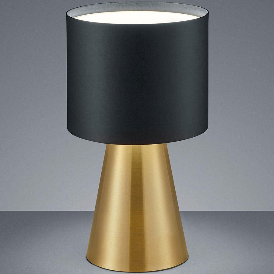 Tafellamp Helestra Bito Zwart Goud