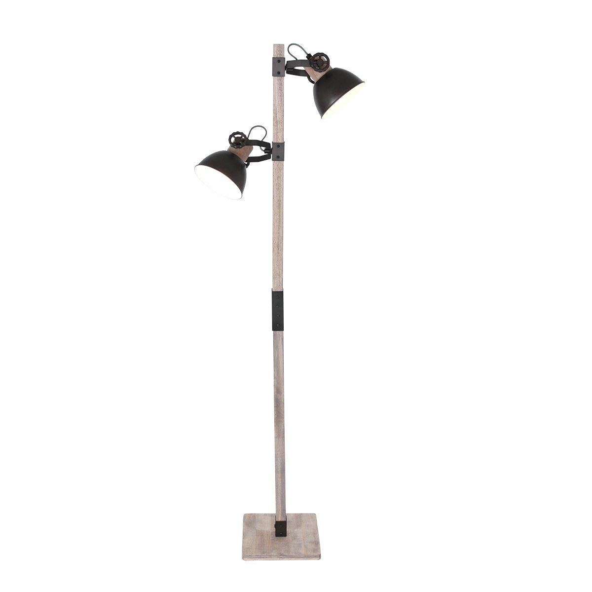 Vloerlamp Steinhauer Gearwood Antraciet