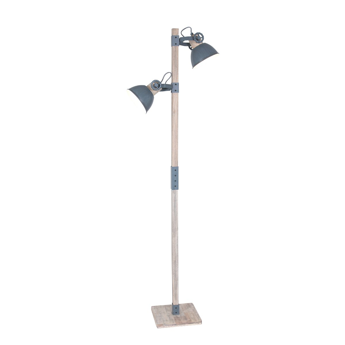 Vloerlamp Steinhauer Gearwood Grijs
