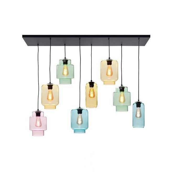 Hanglamp Highlight Fantasy Multicolor 130x35CM