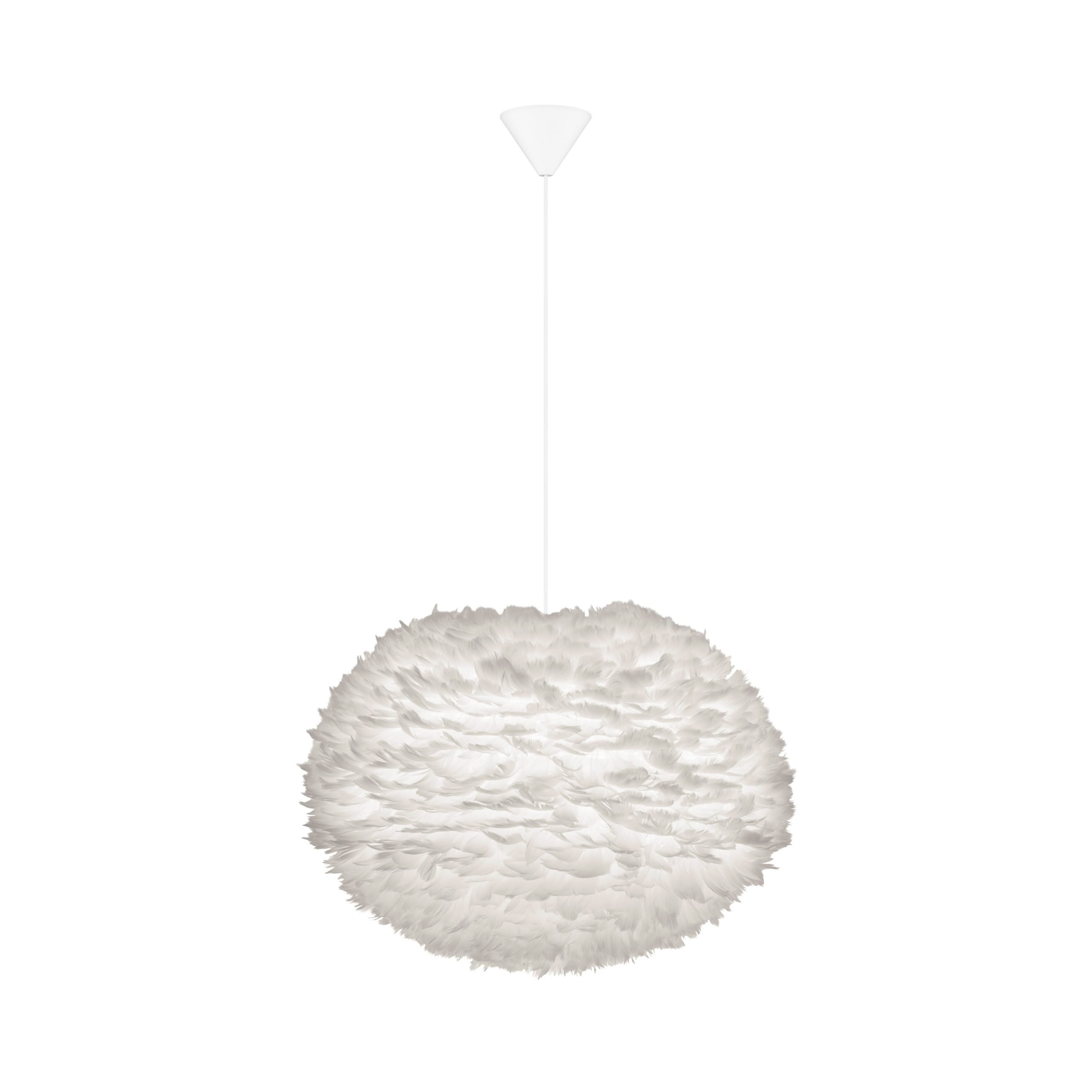 Hanglamp Umage Eos White 65cm Large Inclusief Cordset Wit