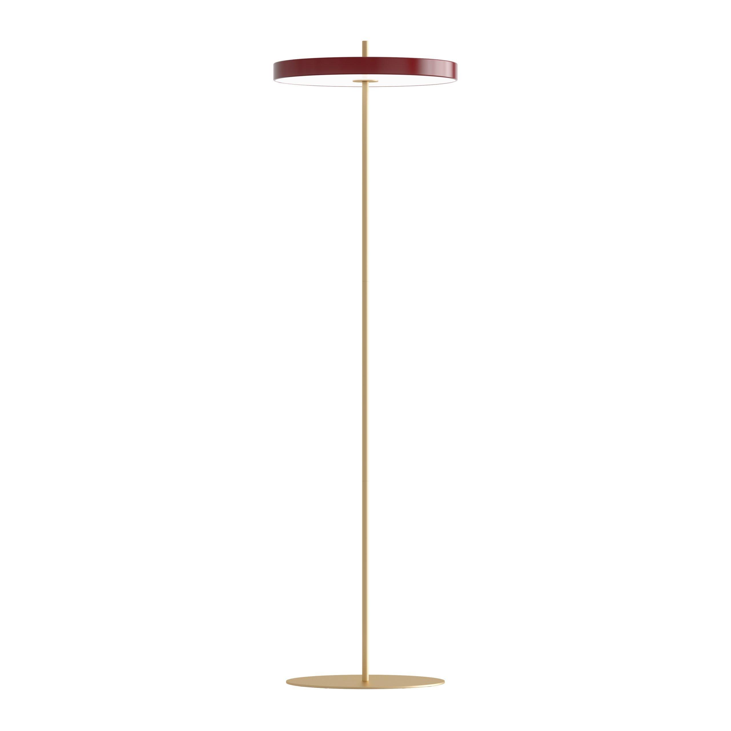 Vloerlamp Umage Asteria Ruby Red