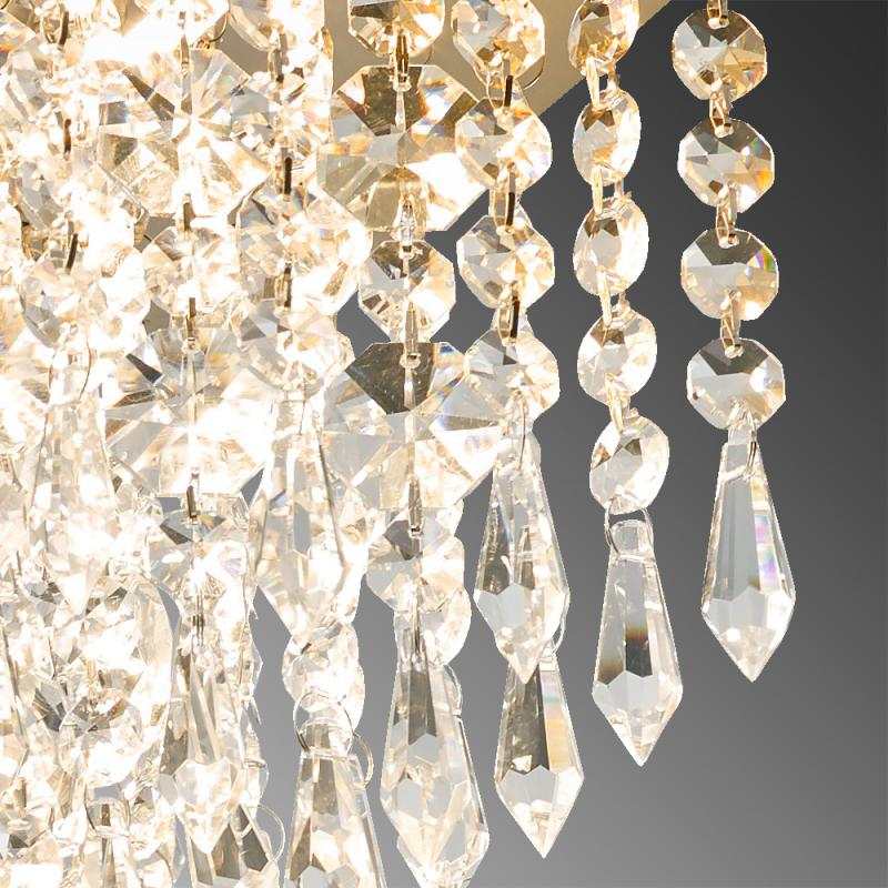 Kristalglas lamp
