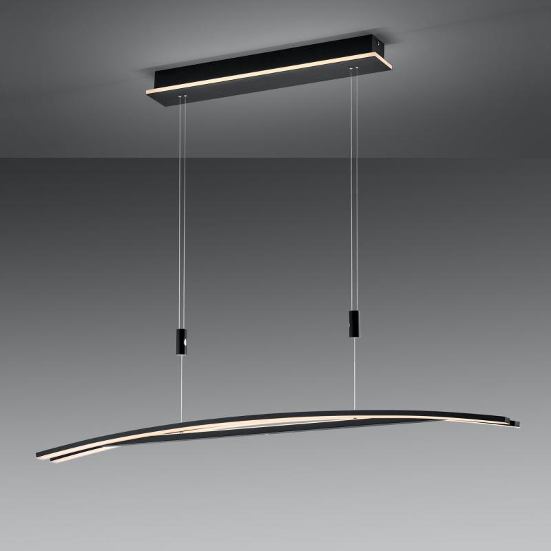 Hanglamp B-Leuchten By Bankamp Sam Zwart