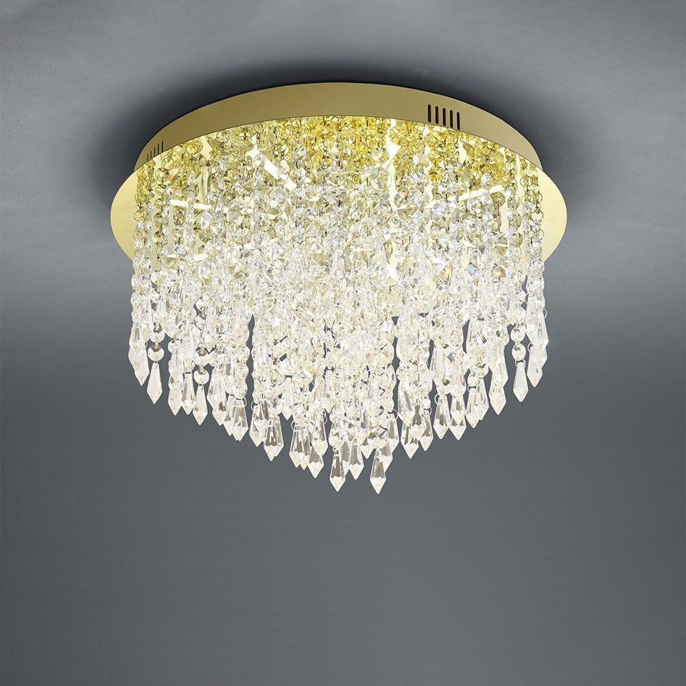 Plafondlamp Palace Messing Rond Met B-Link Dimmer