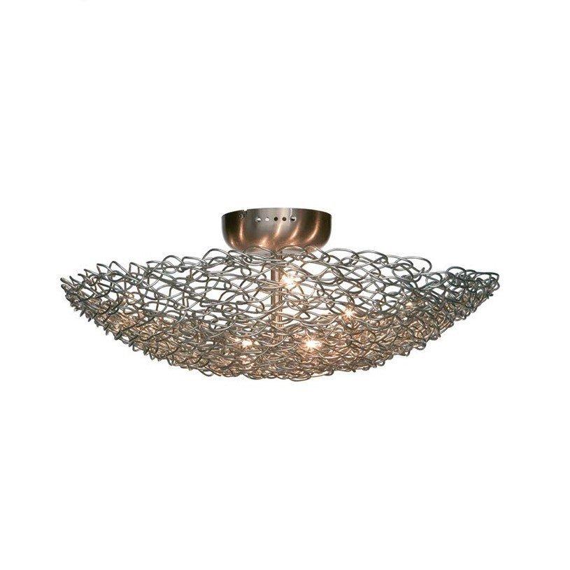 Plafondlamp HarcoLoor Baret 60cm RVS