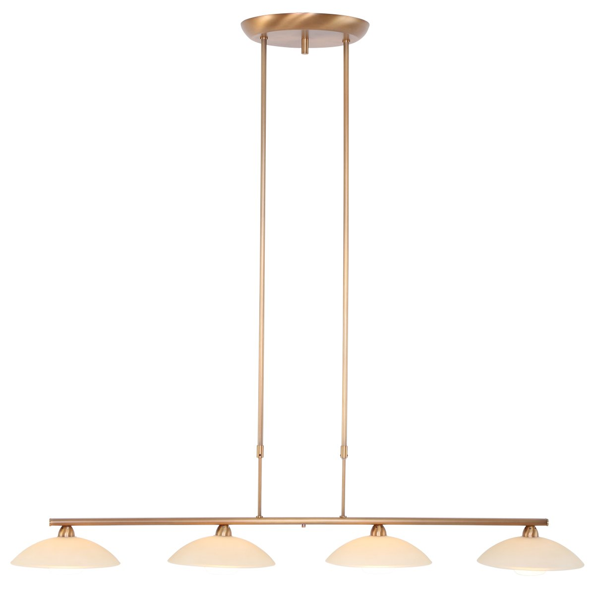 Hanglamp Steinhauer Sovereign Classic Led Brons 4Lichts