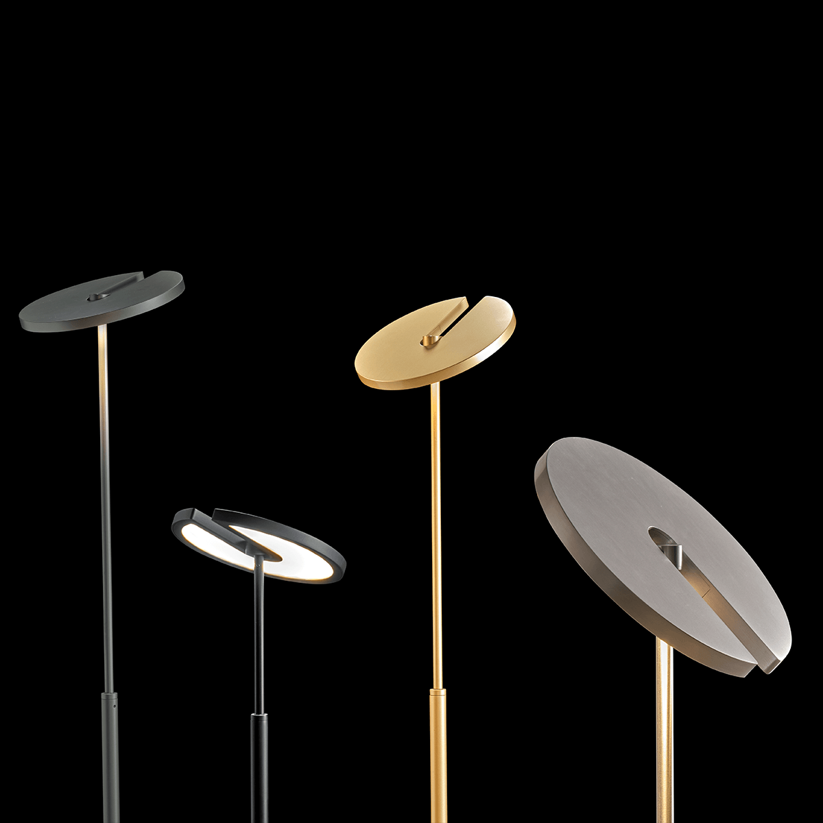 Vloerlamp Holtkotter SuperNova Hoogteverstelbaar In 4 Kleuren