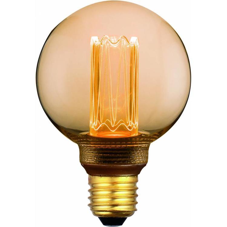 Dimbare Ledlamp 3Standen Goud 8cm