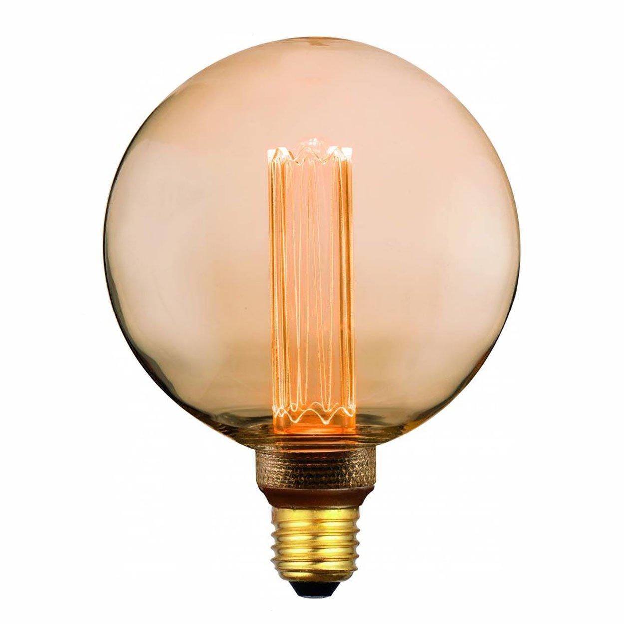 Dimbare Ledlamp 3Standen Goud 12.5cm