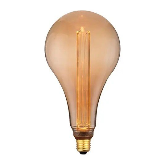 Dimbare Ledlamp 3Standen Goud Standaard Mega