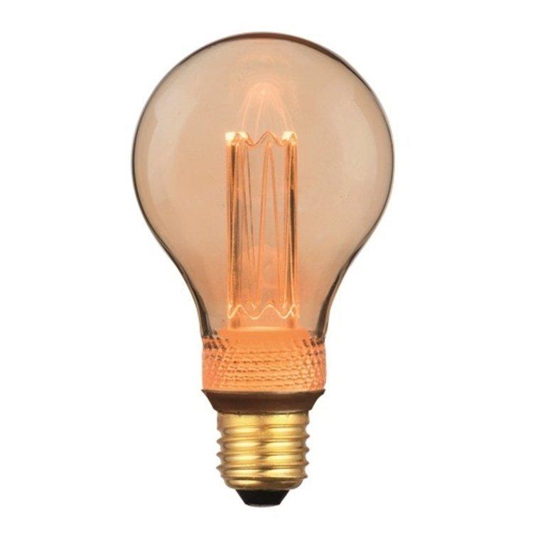 Dimbare Ledlamp 3Standen Goud Standaard