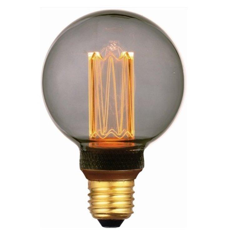 Dimbare Ledlamp 3Standen Smoke 8cm