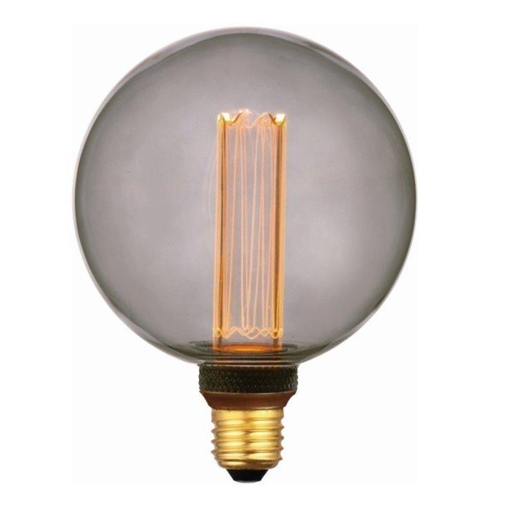 Dimbare Ledlamp 3Standen Smoke 12.5cm