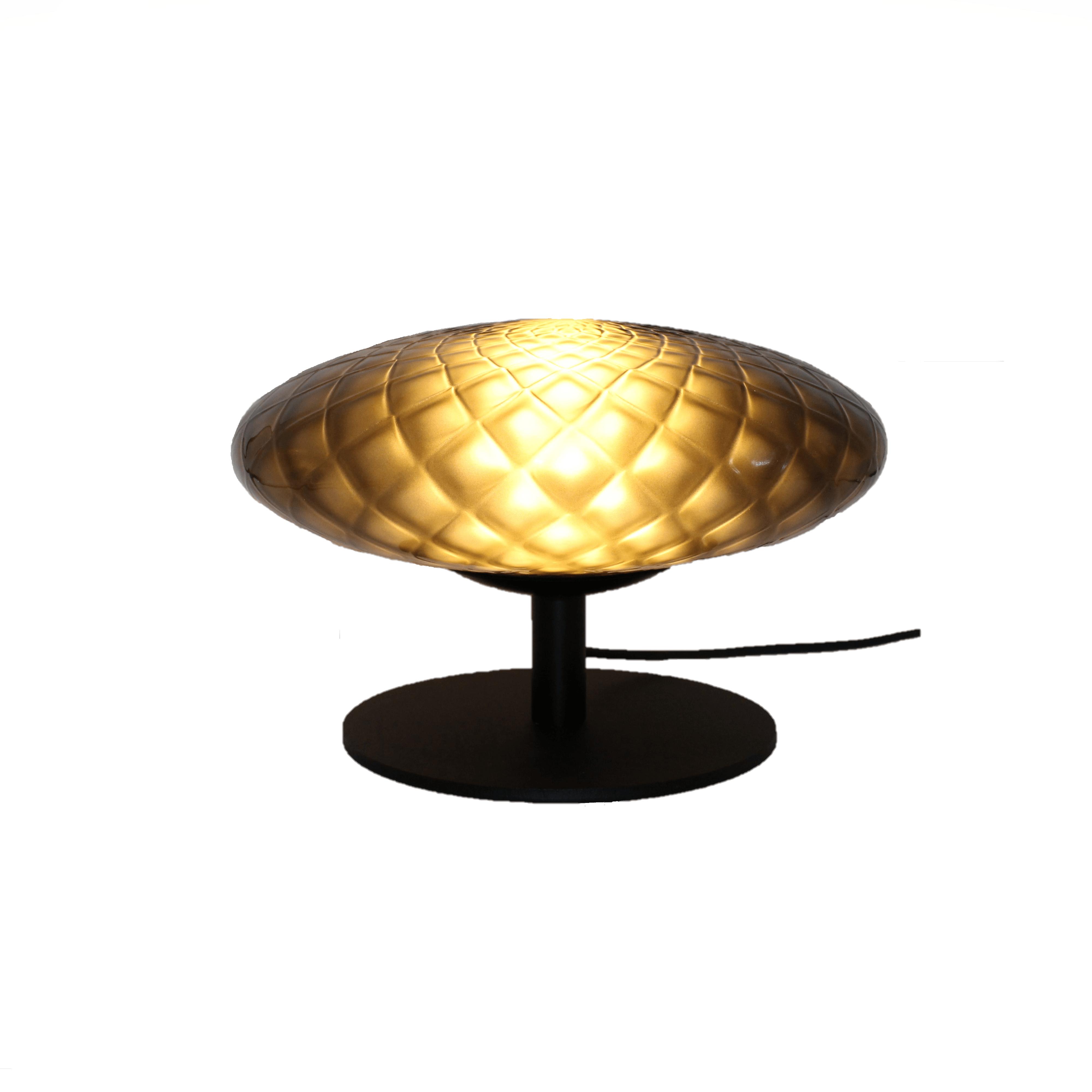 Sfeer lamp met rookglas
