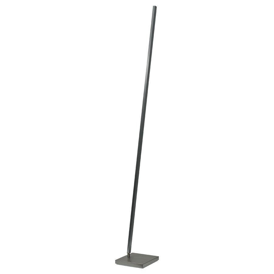 Vloerlamp Masterlight Real 2 Zwart Staal