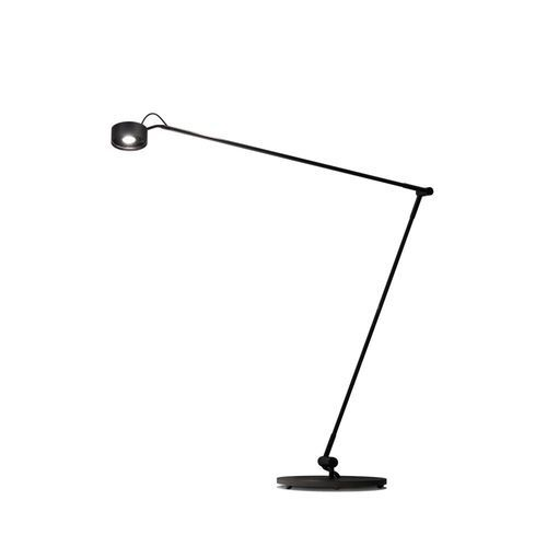 Tafellamp Radius Absolut Basica Knik Zwart Soft Touch Dim