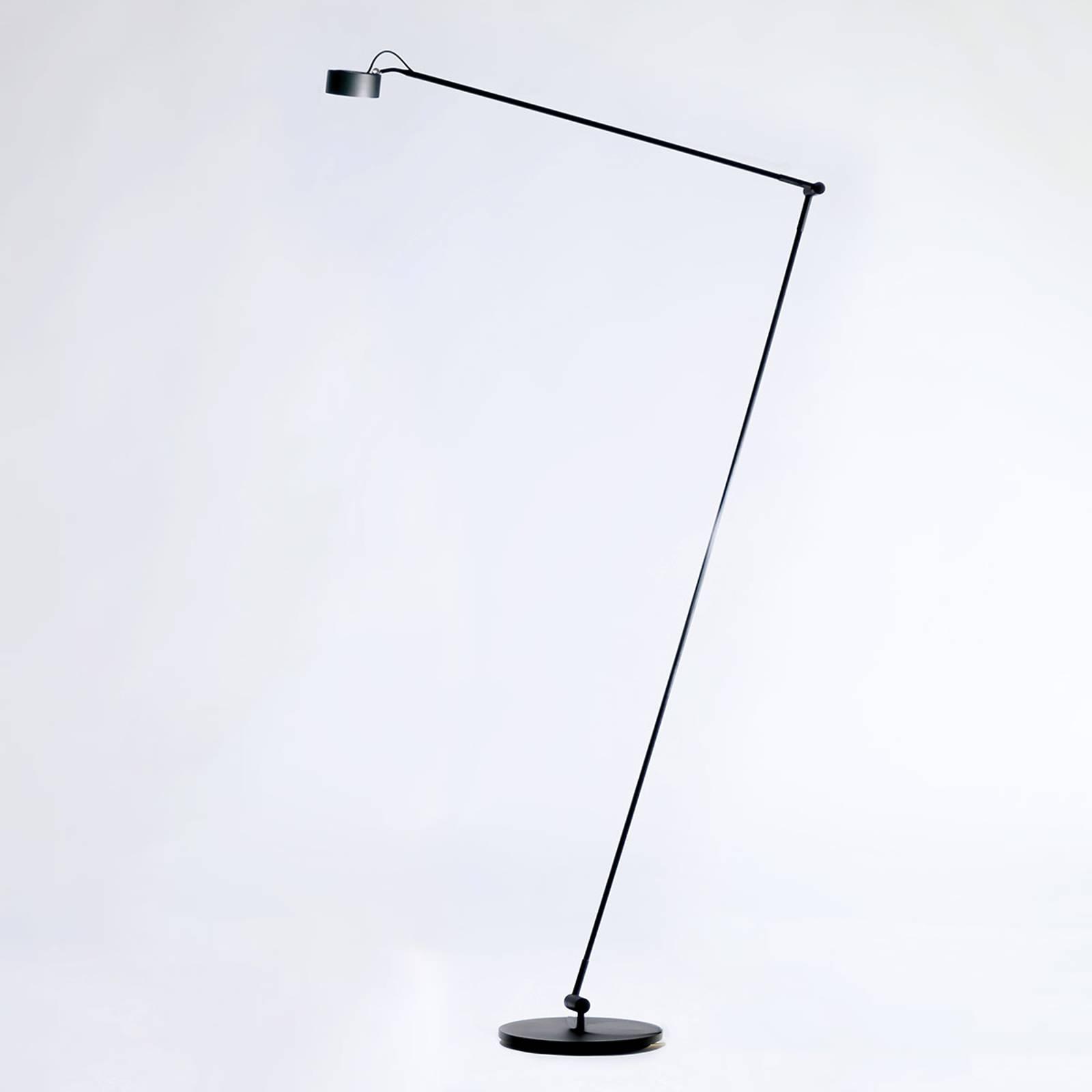 Vloerlamp Radius Absolut Basica Knik Zwart Soft Touch Dim