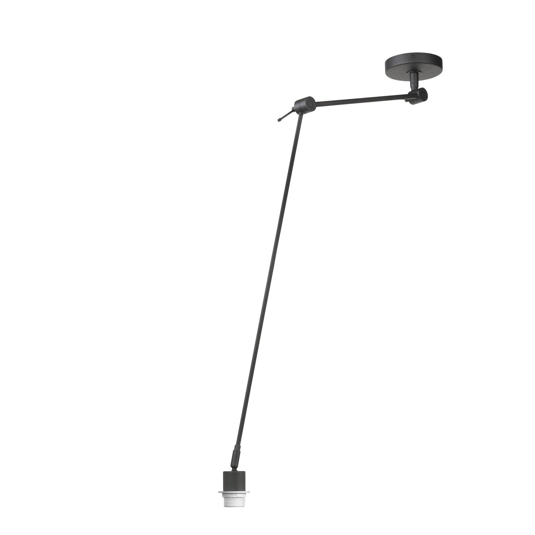 Hanglamp Highlight Rod 1L Zwart